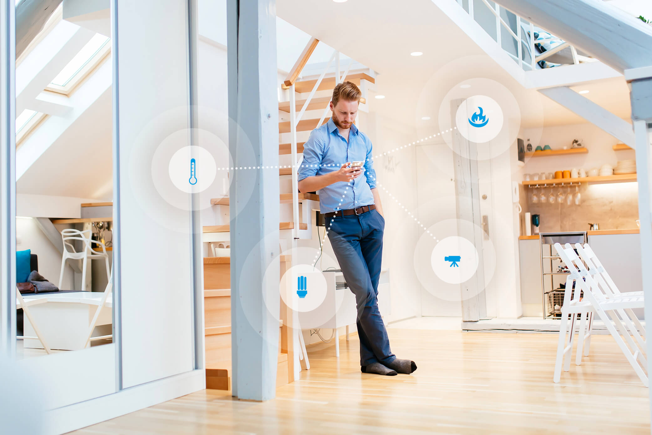 3 Wege zu einem smarten Zuhause