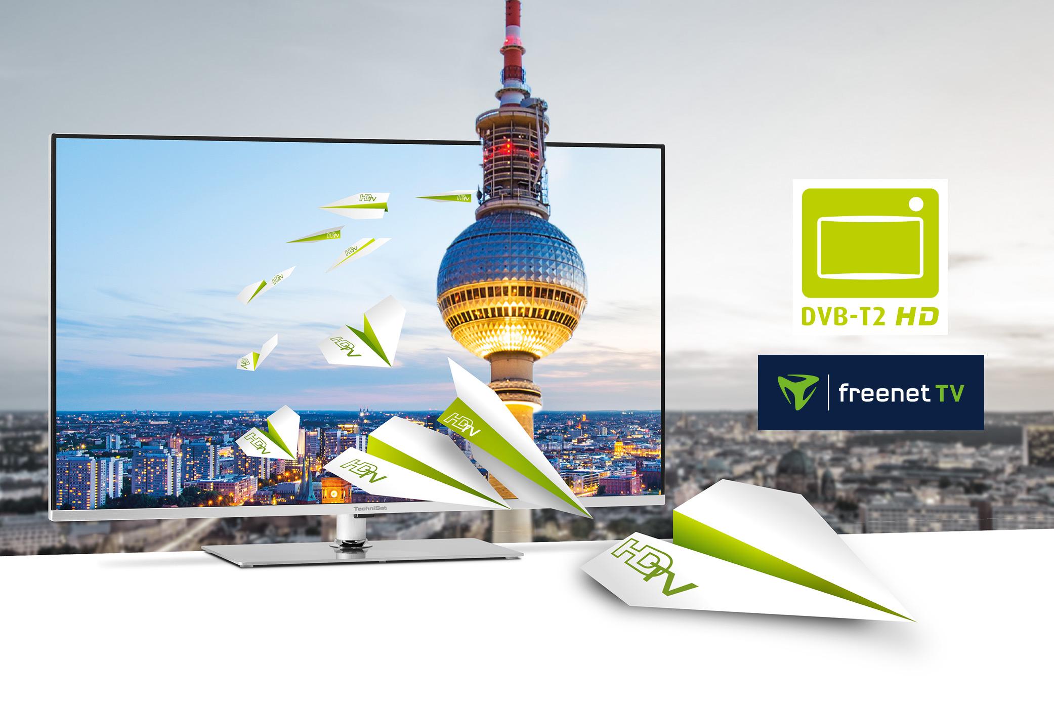 Mit HbbTV  & DVB-T2 HD  mehr Sender und Mediatheken empfangen