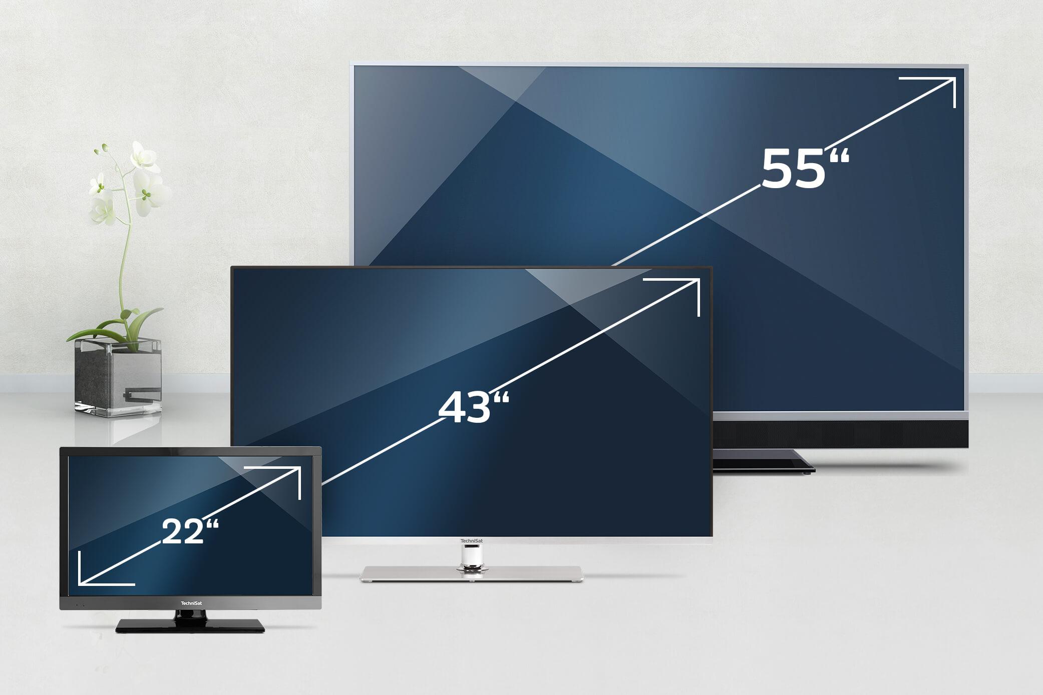 TV-Kauf: So finden Sie die für Sie passende TV-Größe