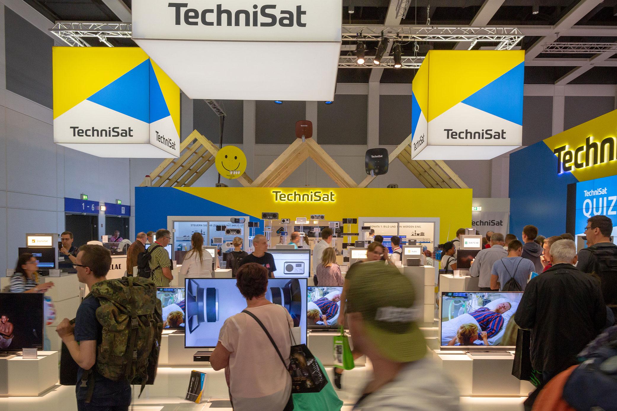 IFA bestätigt sich als erfolgreiche Plattform für TechniSat.