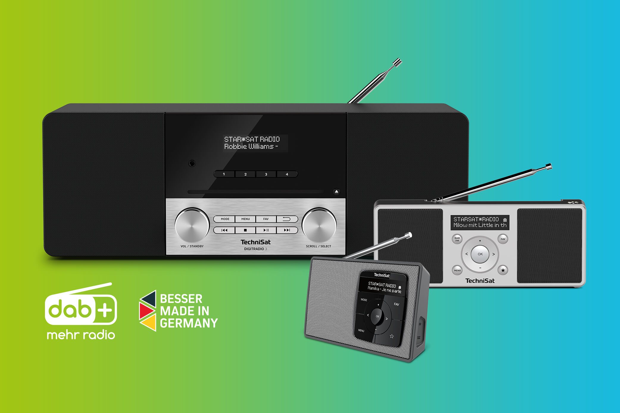 "Mehr DAB+ Digitalradios ""Made in Germany"""