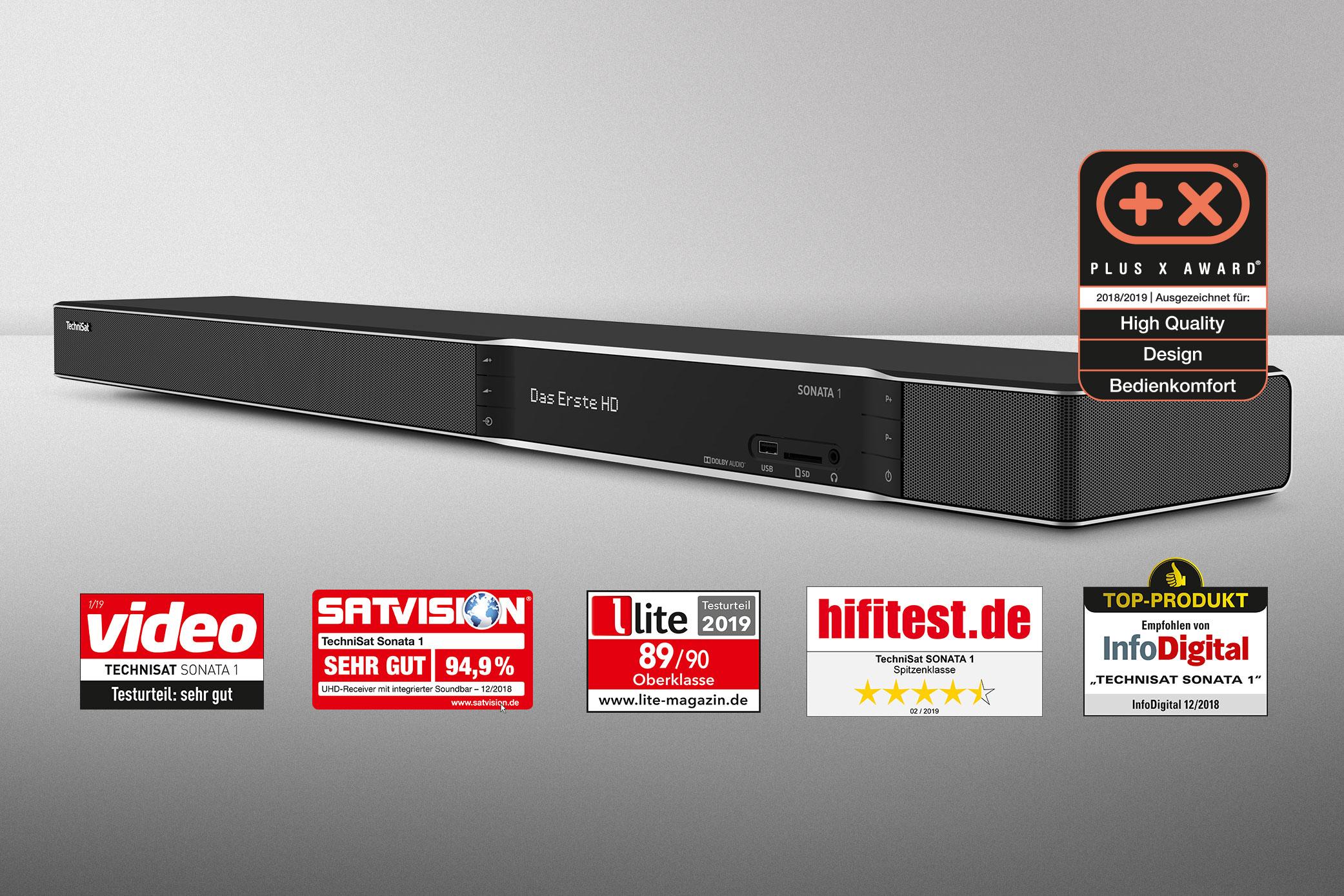 """Vielfach ausgezeichnet – die SONATA 1 """"Made in Germany"""""""