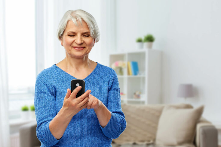 Handy für Senioren