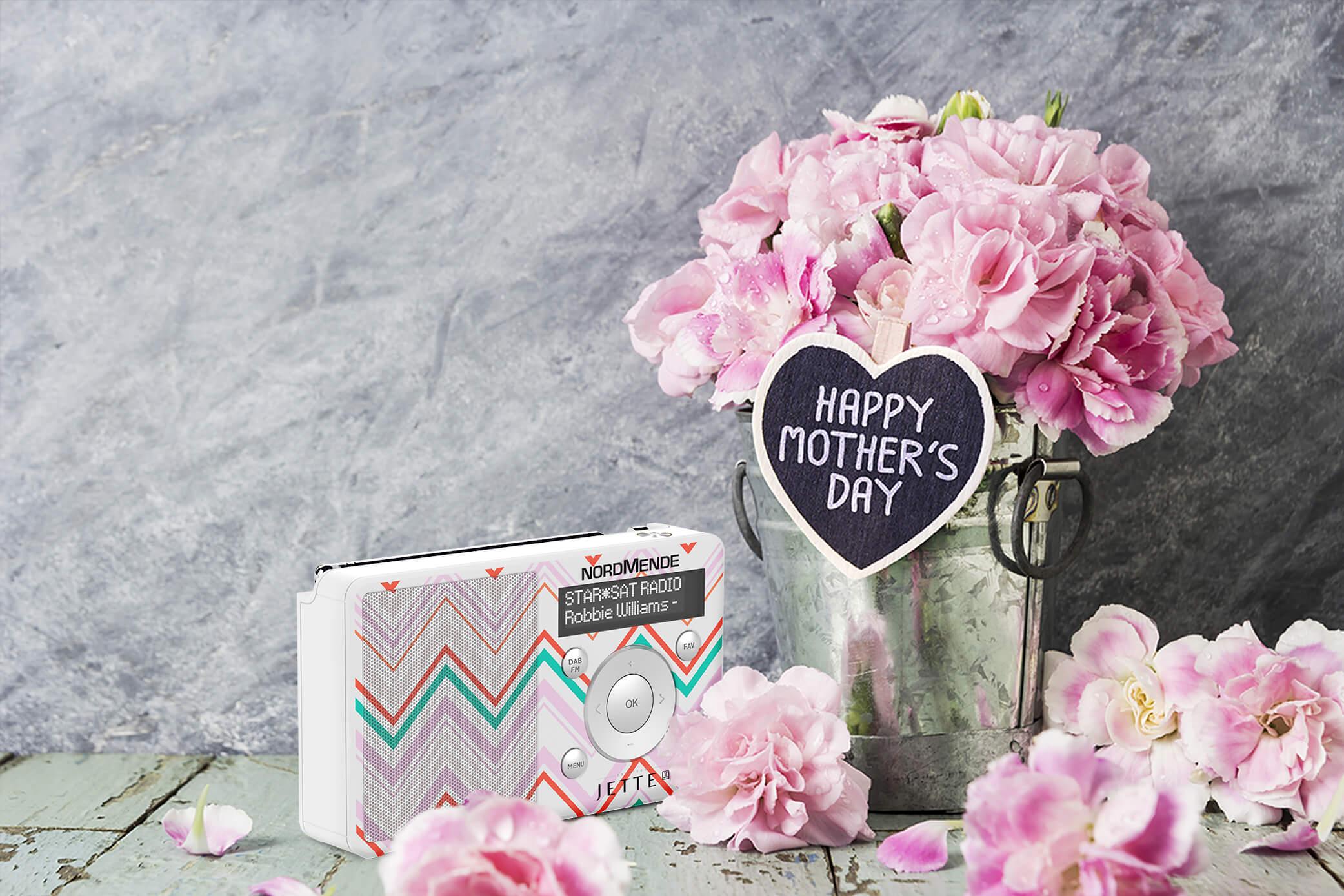 Bald ist Muttertag! Diese Digitalradios wird Mama garantiert lieben.