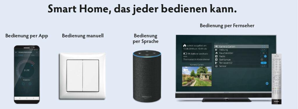 Smart Home leicht zu bedienen