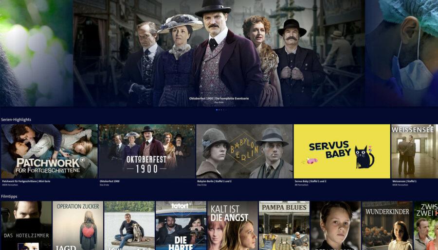 In den Mediatheken von ARD, ZDF oder Arte sind zahlreiche Sendungen nach der TV-Ausstrahlung hinterlegt.