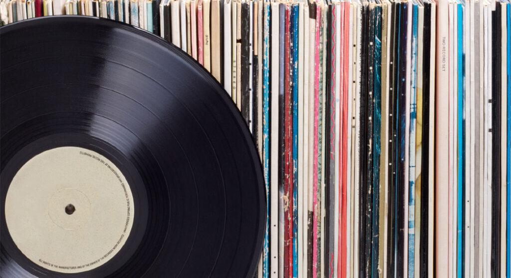 Schallplatten liegen wieder voll im Trend.