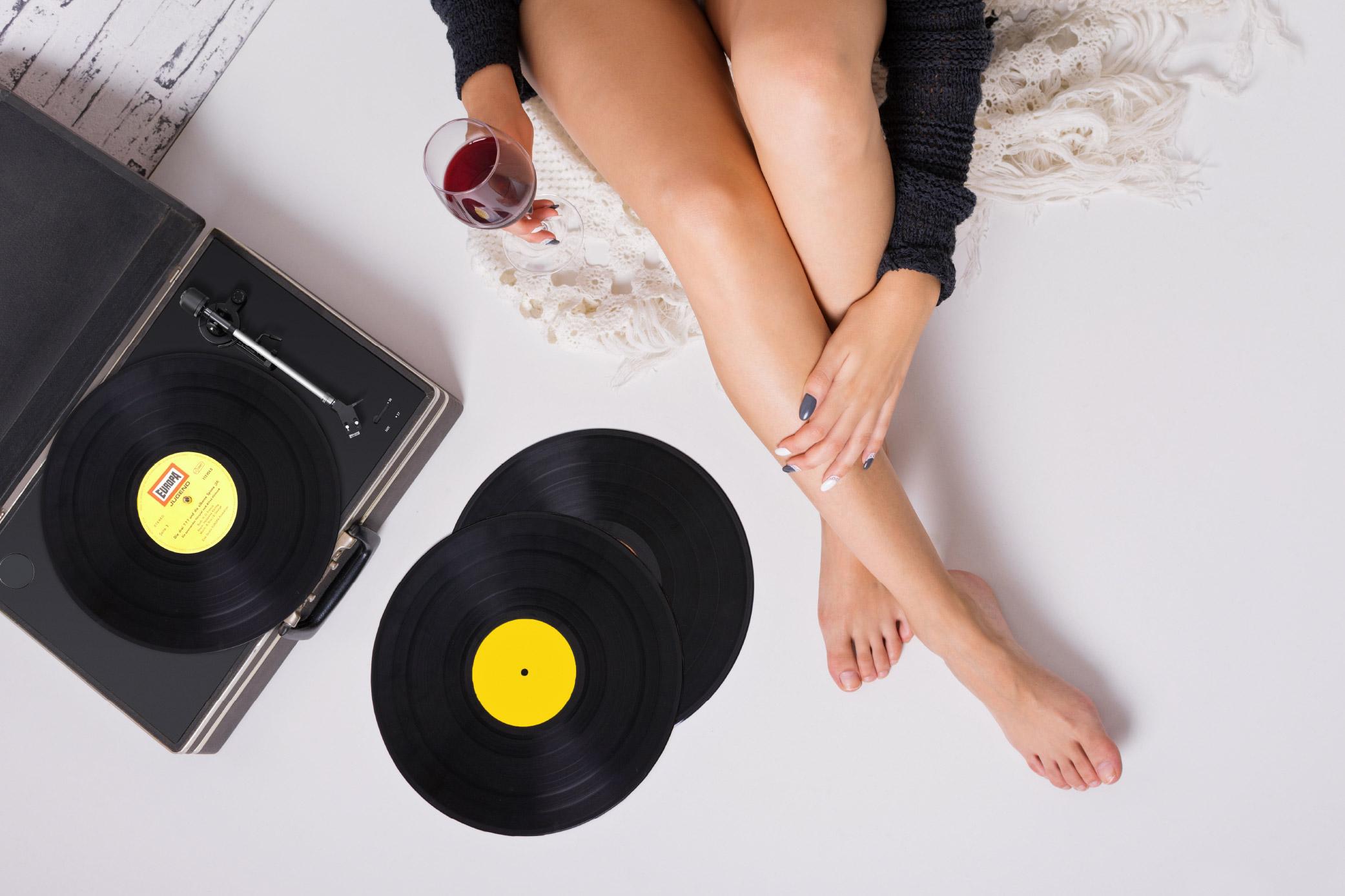 Schallplatte und Plattenspieler feiern ihr Revival