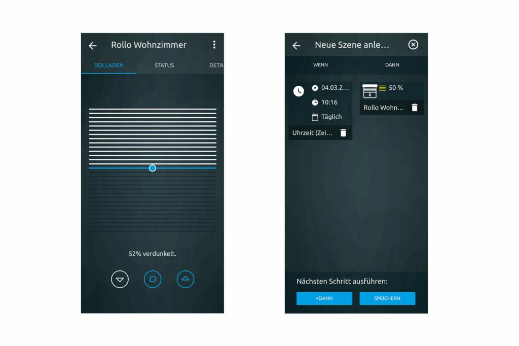 Rolladensteuerung per App