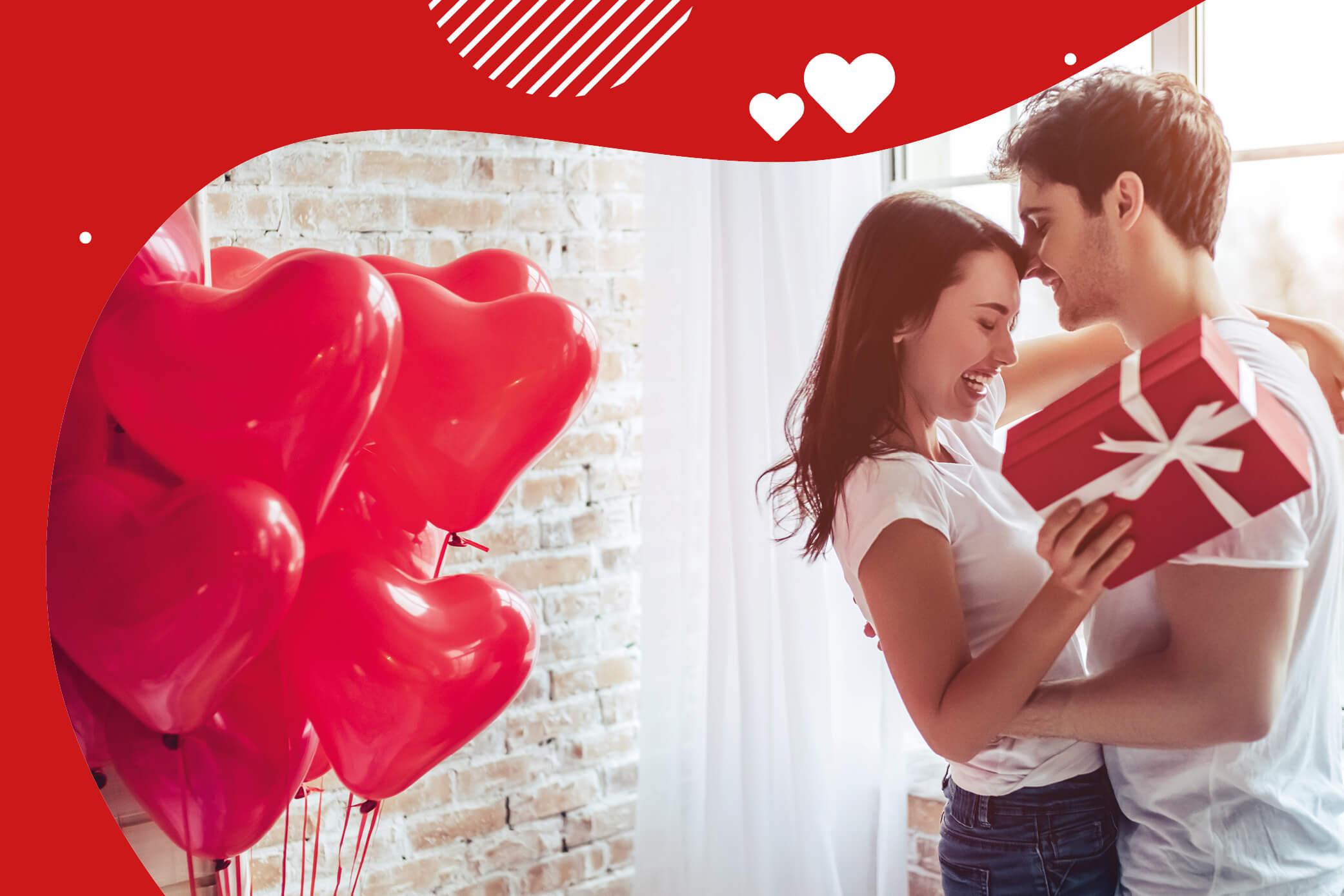 Fünf romantische Valentinstags-Geschenke für 2021