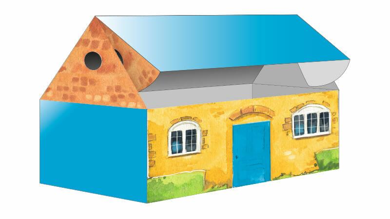 Bastelspaß Haus