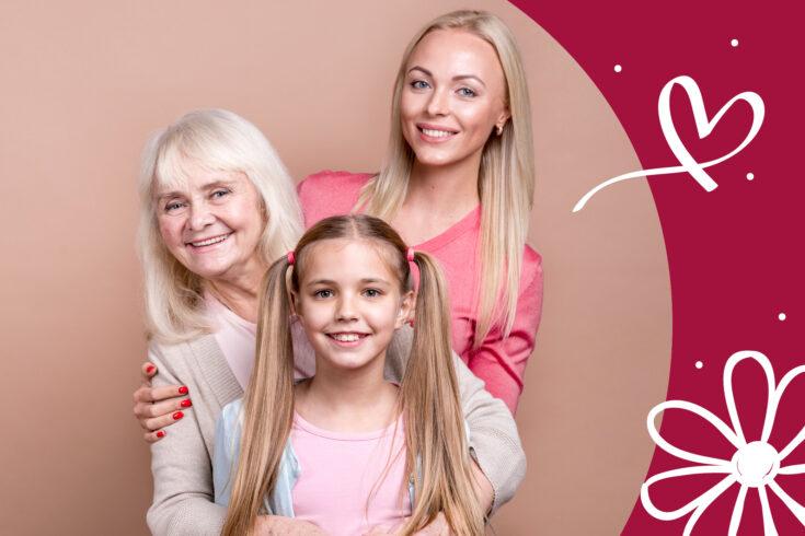 Die schönste Geschenke zum Muttertag von Tochter oder Kindern