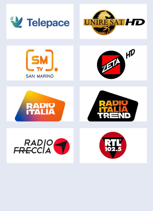 Senderlogos Italienische HD 13°