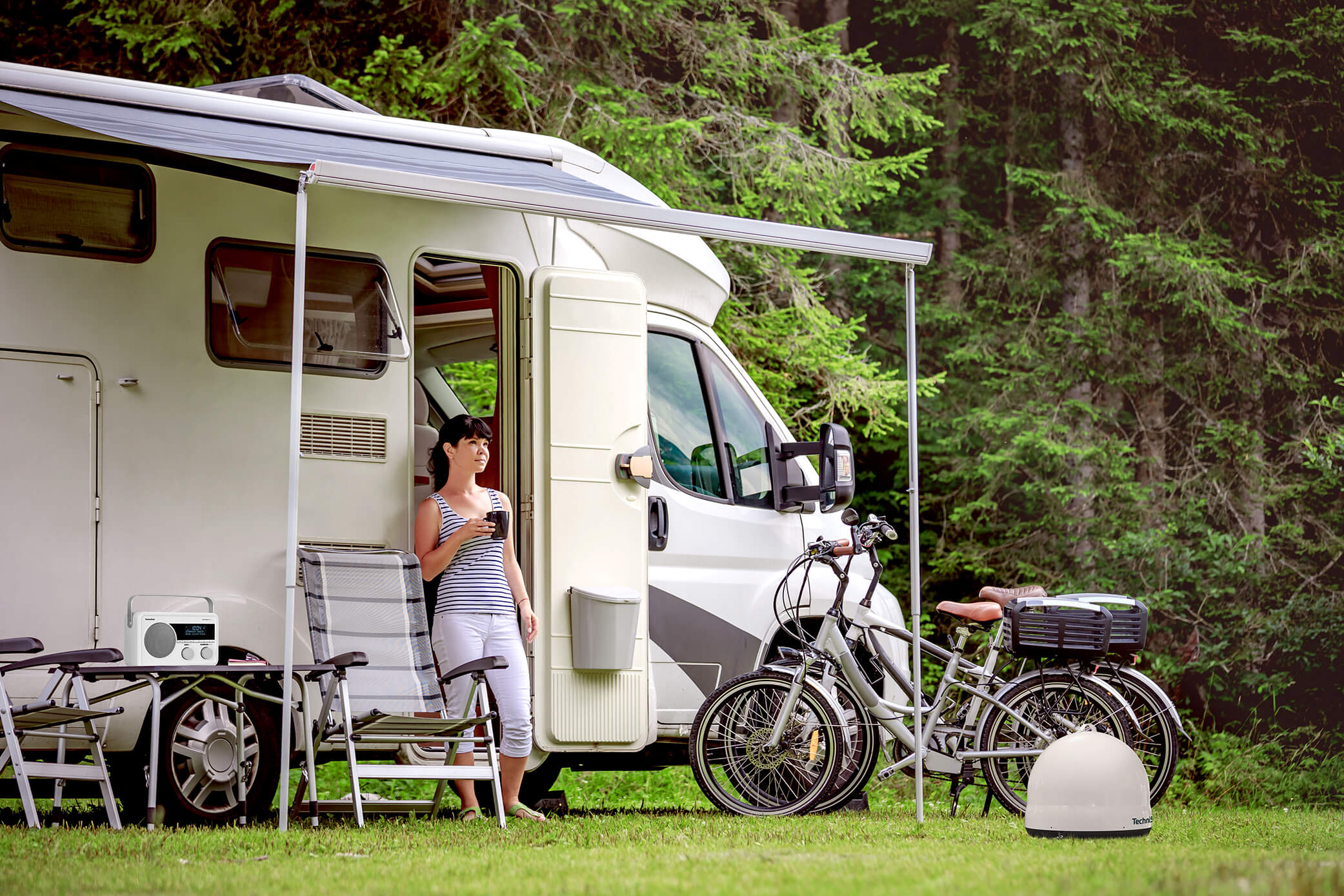 Camping-Ratgeber - TV-Empfang im Wohnmobil